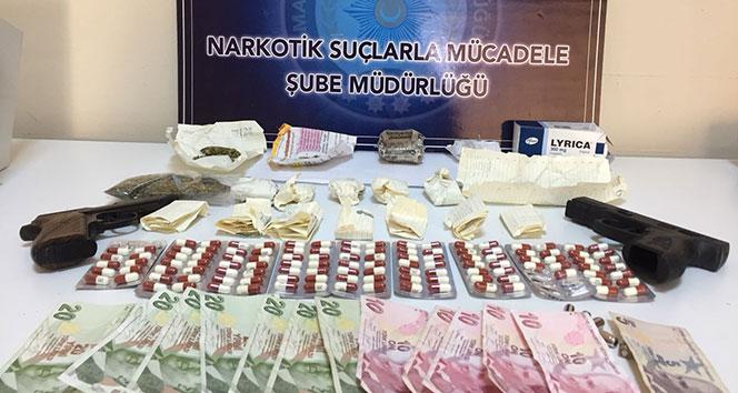 Malatya'da uyuşturucu operasyonu: 10 tutuklama