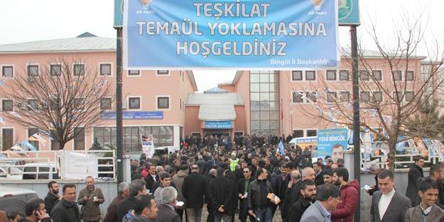 Aday adayları, temayülde yarıştı