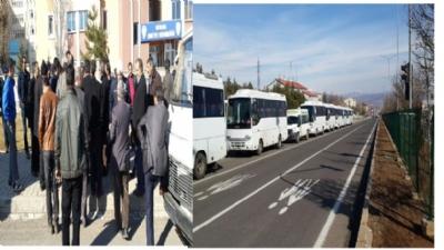 Bingöl'de Otobüs Firmaları Kontak Kapattı