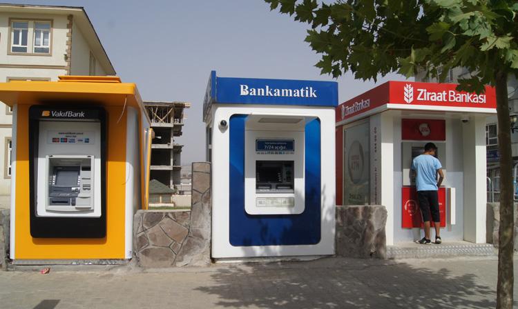 Bir bankamatik daha kuruldu