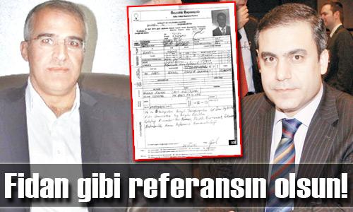 Ak Partili aday adayı MİT'i referans gösterdi!