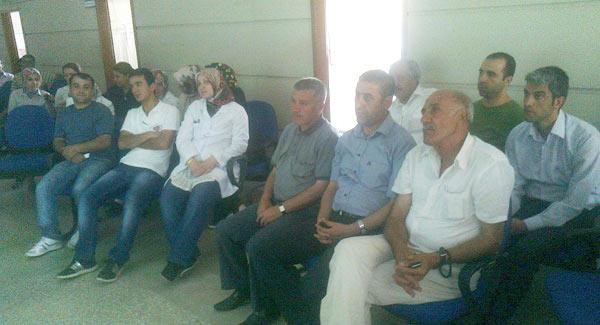 Hastane personeline yazışma eğitimi