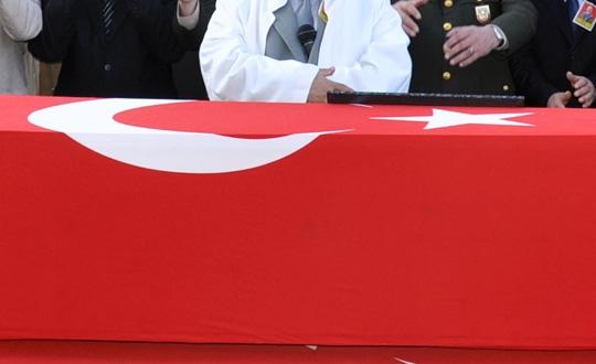 Şehit olan korucu Ali Kalkan toprağa verildi
