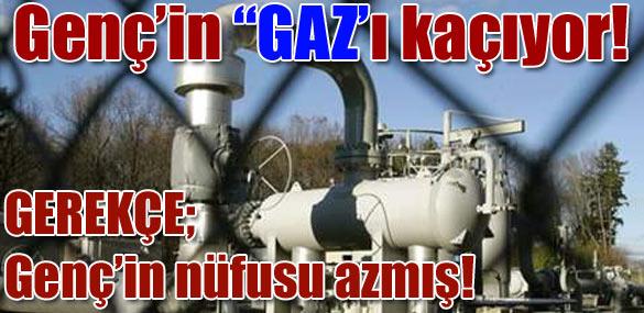 """Genç'in """"GAZ'ı kaçıyor!"""