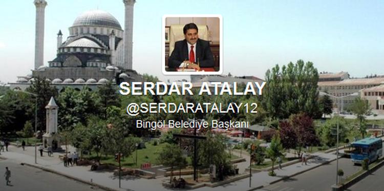 Belediye Başkanı Atalay, Twitter Hesabı Açtı