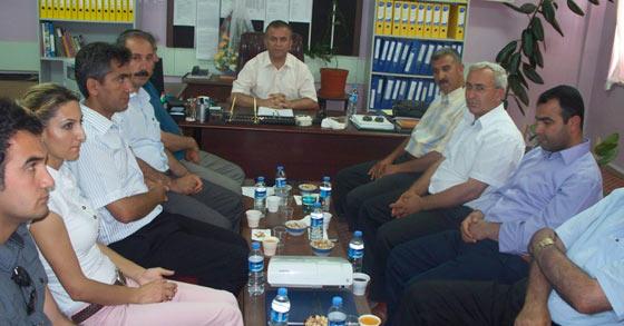 YİBO lar toplantısı Çaytepe de yapıldı