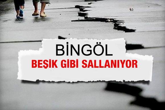 Bingöl'ün altı kaynıyor, 10 günde 7 deprem!