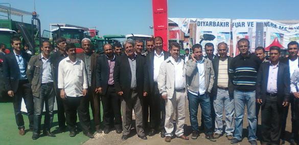 Çiftçiler, tarım ve hayvancılık fuarını gezdi