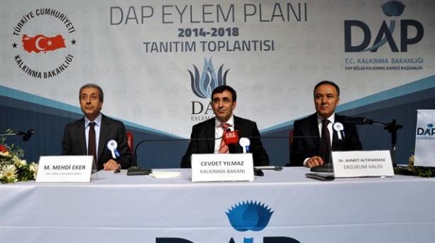 Bakan Yılmaz DAP Eylem Planını açıkladı