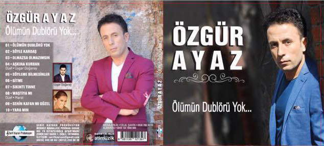 Gençli Özgür Ayaz'dan süper albüm