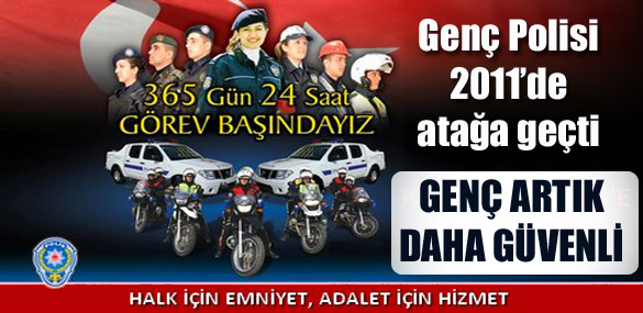 Genç Polisi 2011'de atağa geçti
