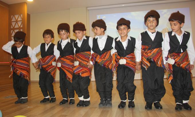 Nuri Özaltın İlkokulu'ndan yılsonu etkinliği