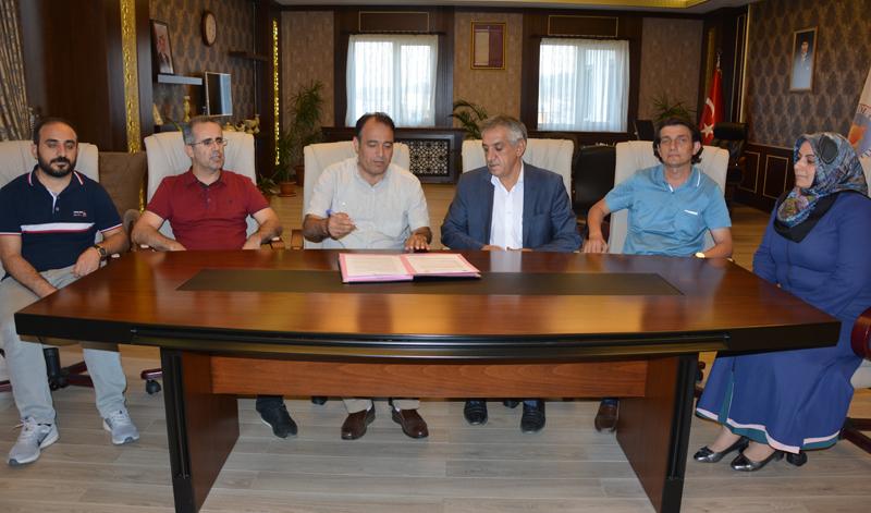 Bingöl Üniversitesi İle Arı Yetiştiricileri Birliği arasında işbirliği protokolü imzalandı