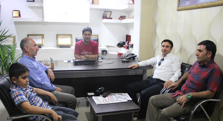Dr. Bağış'tan gazetemize ziyaret