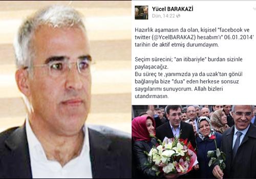 Yücel Barakazi, Sosyal Medyada