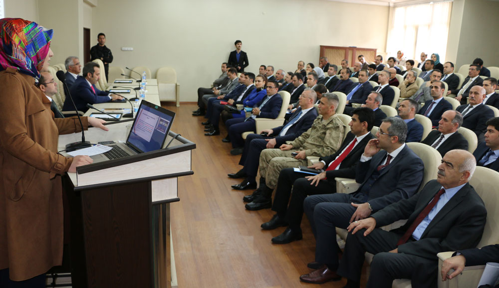 'AÇIK KAPI PROJESİ' TANITIM TOPLANTISI YAPILDI