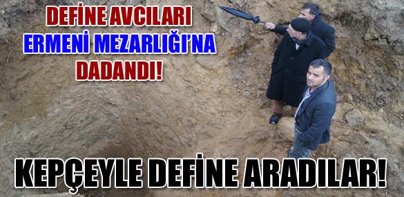 KEPÇEYLE DEFİNE ARADILAR!