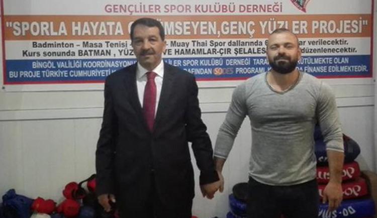 Kılıç'tan Milletvekili Fehmioğlu'na teşekkür