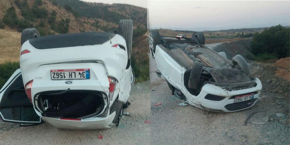 Aynı yerde 2 farklı kaza, 4 yaralı