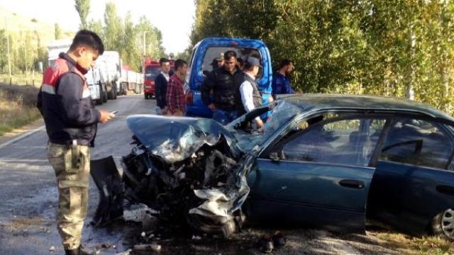 Şehit Yakınları Göksun'da Kaza Yaptı: 1 Ölü, 2 Yaralı