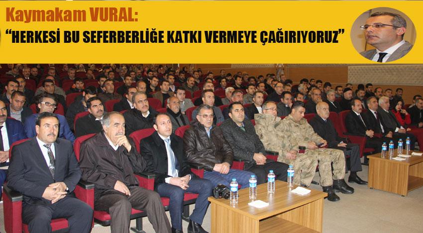 'OKUMA YAZMA SEFERBERLİĞİ' STARTI VERİLDİ