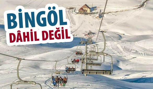 BİNGÖL'E KIŞ TURİZMİ DARBESİ!