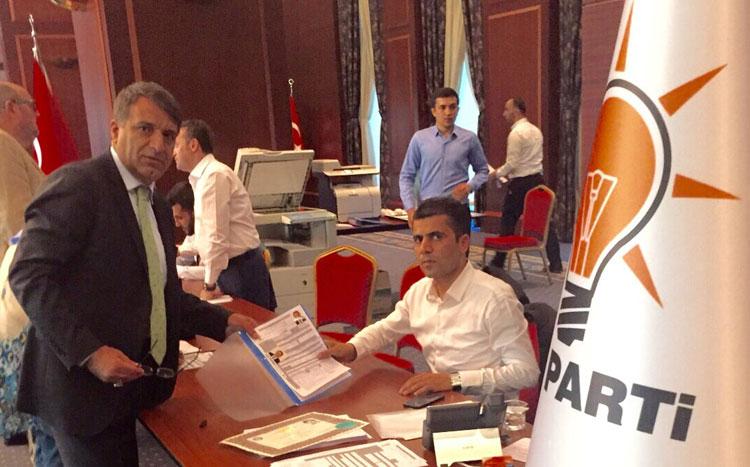 Çavuşoğlu Ak Parti'den adaylığını açıkladı
