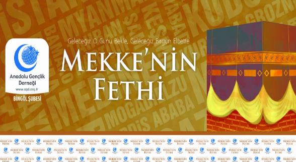 """""""Mekke'nin Fethi"""" kutlanacak"""