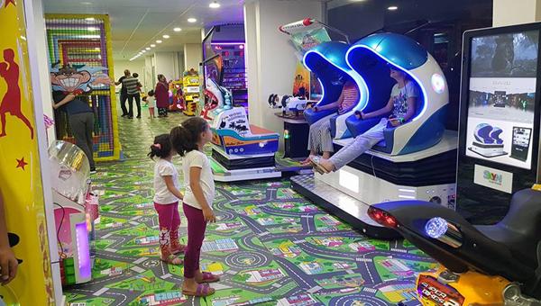 Bingöl'ün en büyük çocuk eğlence yeri