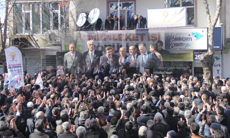 Yılmaz: Özgürlüklerin, barışın, huzurun adresi AK Parti'dir