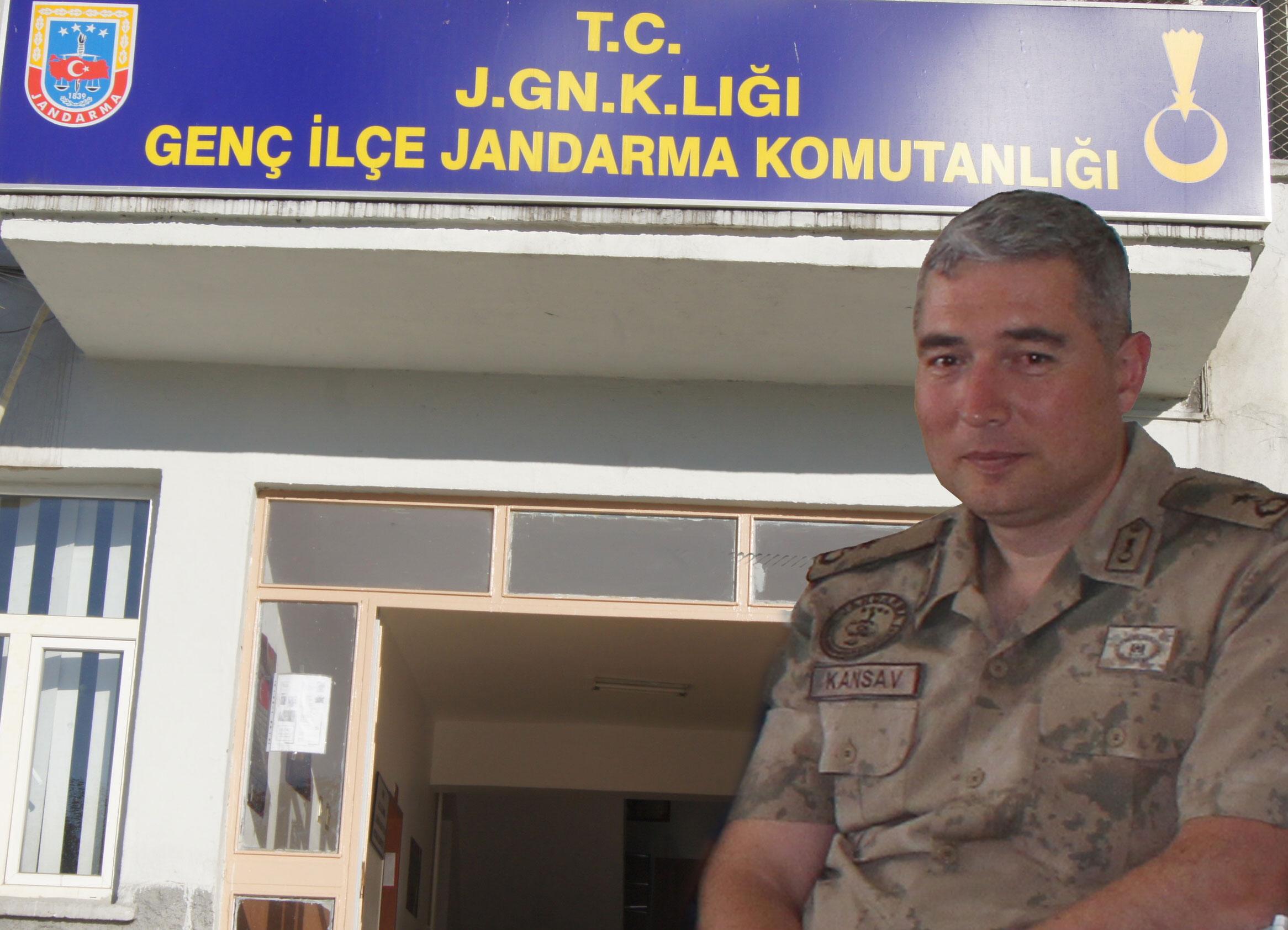 İlçe Jandarma Komutanlığı'na Kansav atandı