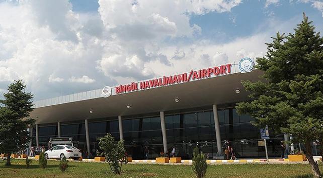 Havalimanı bir ayda 17 bin yolcuya hizmet verdi