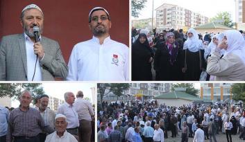 Bingöl'de Hacı adayları dualarla uğurlandı