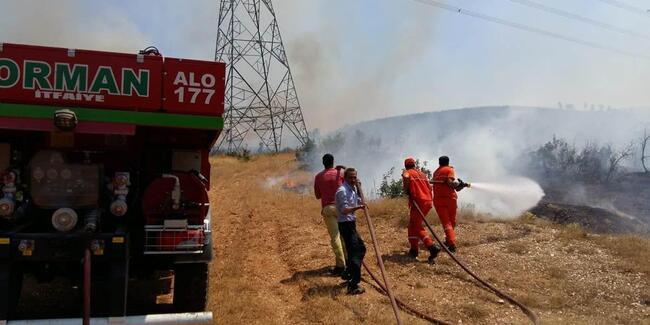 Temmuz'da 4 orman yangını!