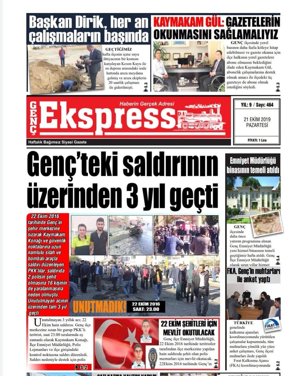 Haftalık Gazetemiz