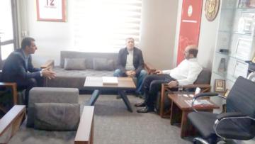 Aran'dan Konfederasyon Başkanı Sözen'e ziyaret