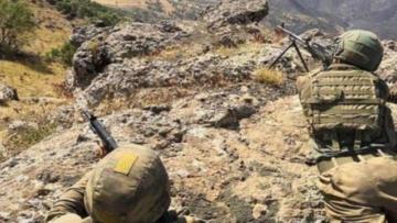Bingöl'de, 1 PKK'lı terörist öldürüldü
