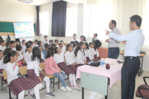 Minik Öğrencilere Gazetecilik Anlatıldı