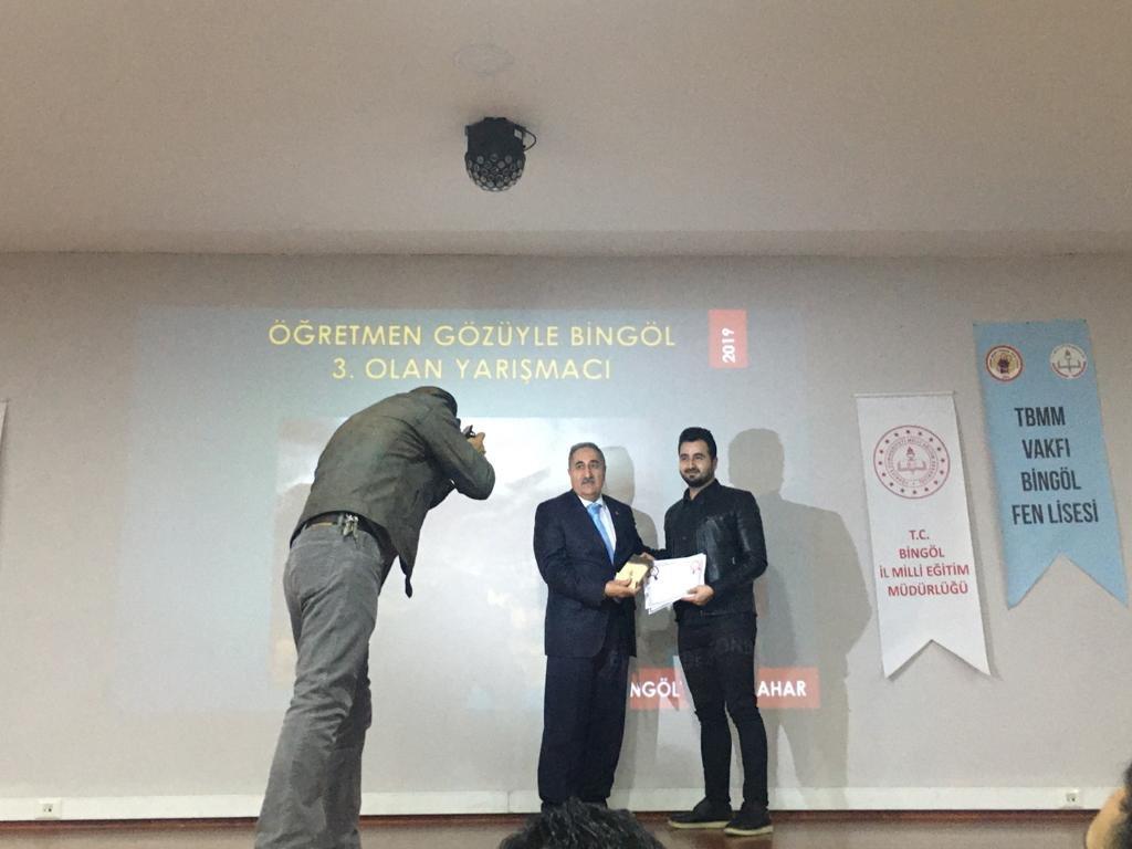 'Bingöl'de Sonbahar' yarışmasında ödüller sahiplerini buldu