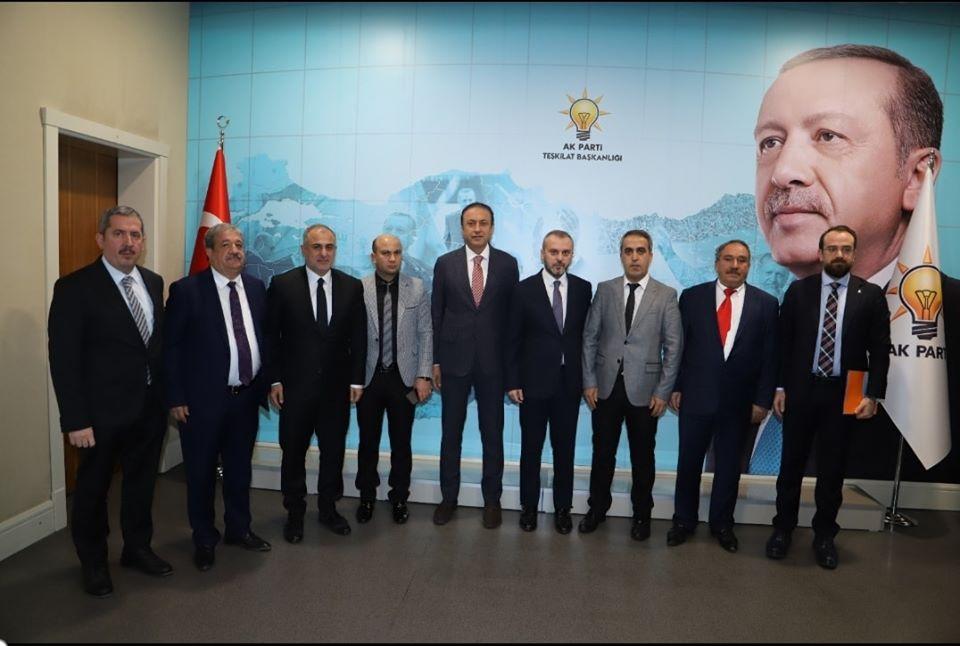 Ak Parti'de yeni ilçe başkanları