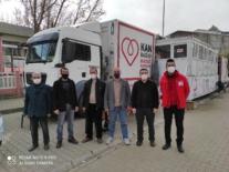 İki günde 105 ünite kan bağışı yapıldı