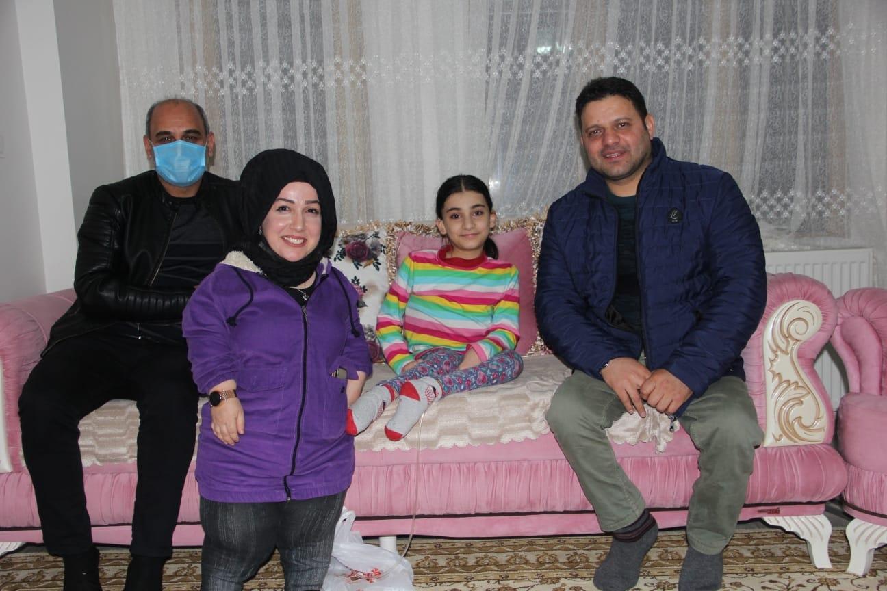 Engelliler Derneğinden Yeliz'e Ziyaret