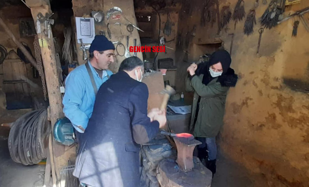 Genç HEM'den Fadlı Ustaya ziyaret