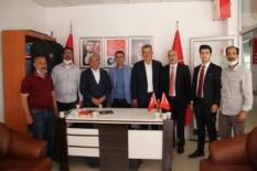 CHP Ekonomi ve Esnaf masaları üyeleri, Genç'te esnafı ziyaret etti