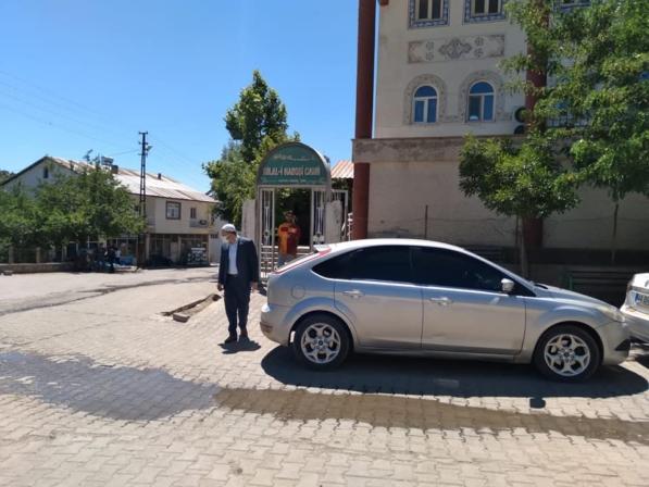Müftü Hamzaoğlu, Çalışmalarını Aralıksız Sürdürüyor
