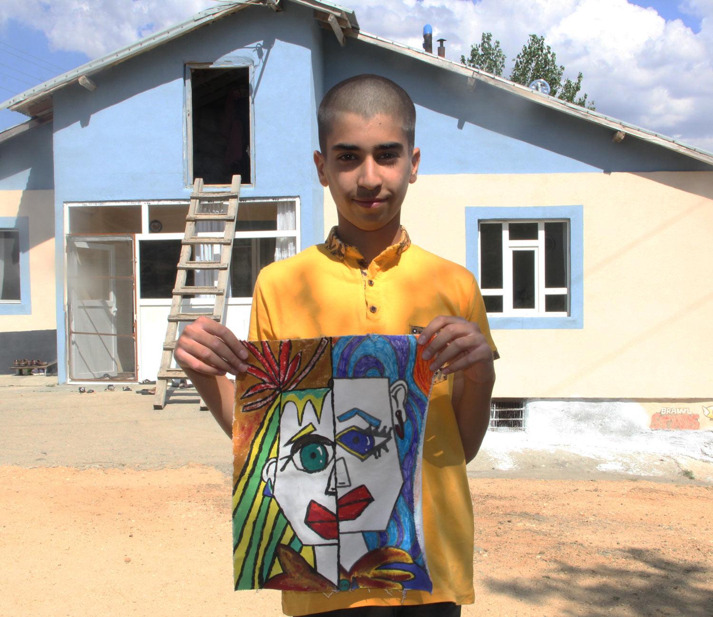 Köyde Çobanlık Yapan Ali'nin Hayali 'Picasso' Gibi Tanınmak