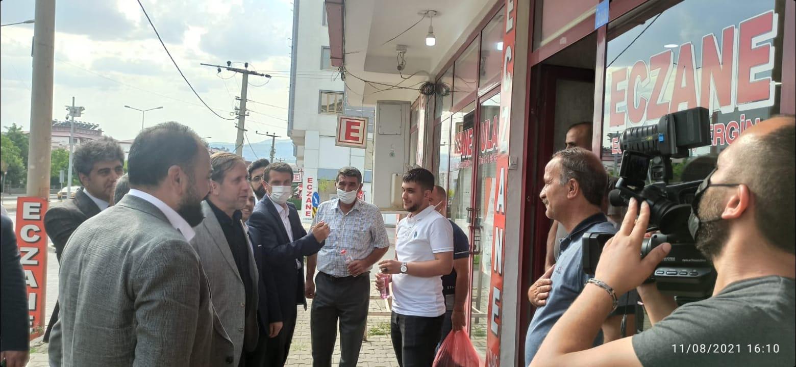 Yeniden Refah'tan Genç İlçesine Ziyaret