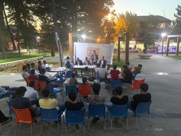 'Mahalle Bizim Gençlik Bizim' Programı