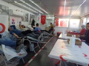 İki Günde 87 Ünite Kan Bağışı